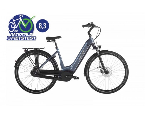 Ebike Das Original C004 Comfort Intube Venice Boulevard, Blue Silver-grey
