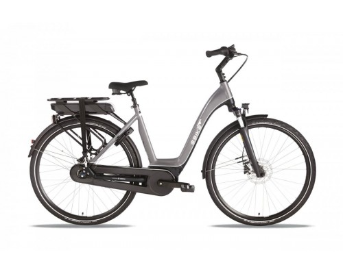 Ebike Das Original City 009 Wave /active Plus, Gold Silver - Grey Silver Glos