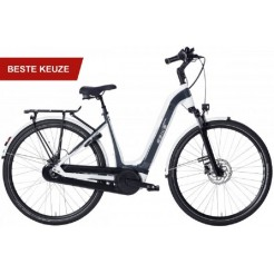 Ebike Das Original C004 Comf Dutch, Antraciet White