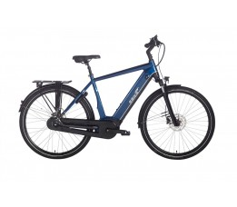 Ebike Das Original S004 Intube Performance Powertube 500 Wh , Blauw Zwart Glans